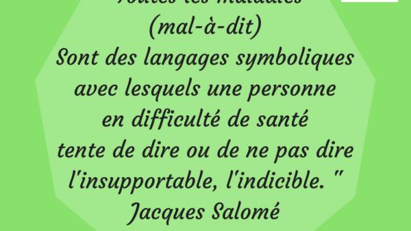 Jacques Salomé Corps Maladies